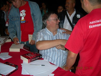 Alan Woods meeting in Merida