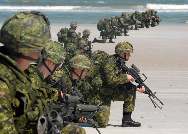 Канадский имперский милитаризм.