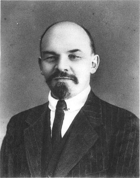 Lenin in Switzerland Image public domain