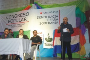 On June 19, the congress of the United Peoples' Space (EUP) met in Asuncion