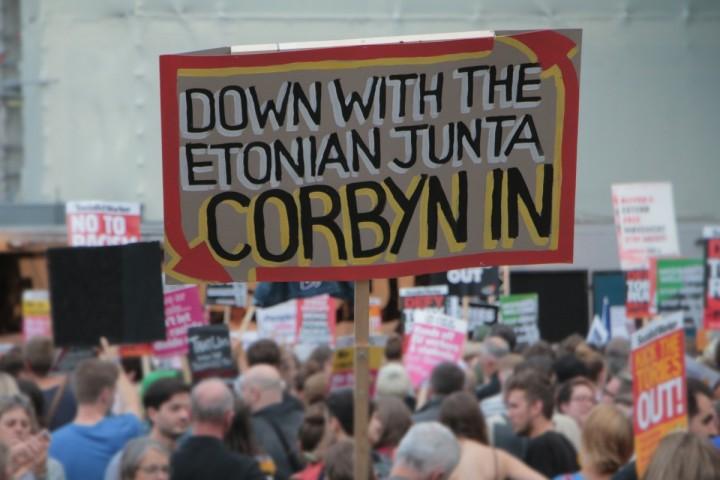Corbyn in Etonian Junta