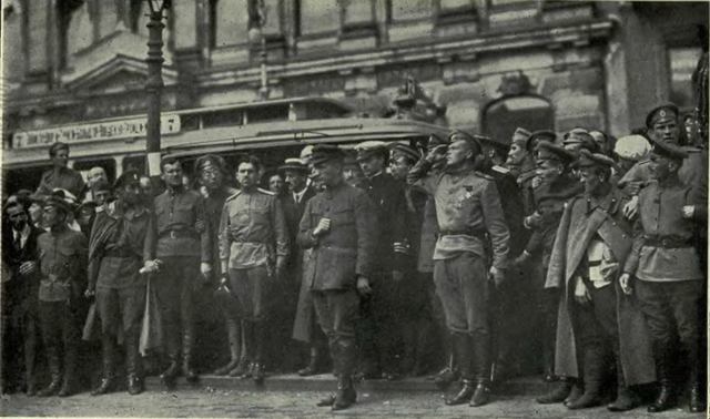 Kerensky and Provisional Government Image Wikimedia Commons