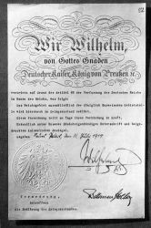 Declaration of war by Germany