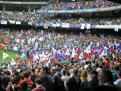 Melbourne Cricket Ground Rally