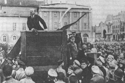 how did lenin adapt marxism to conditions in russia