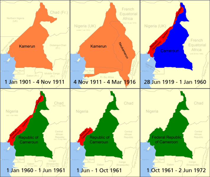Cameroon boundary changes Image Roke