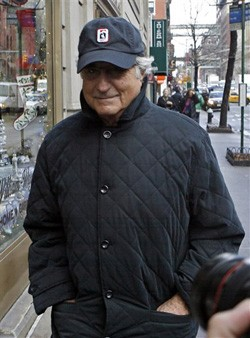 Bernard Madoff, responsible for the biggest swindle in the history of the world. Photo by Chattanooga Endeavors, Inc. (CEi) on flickr.