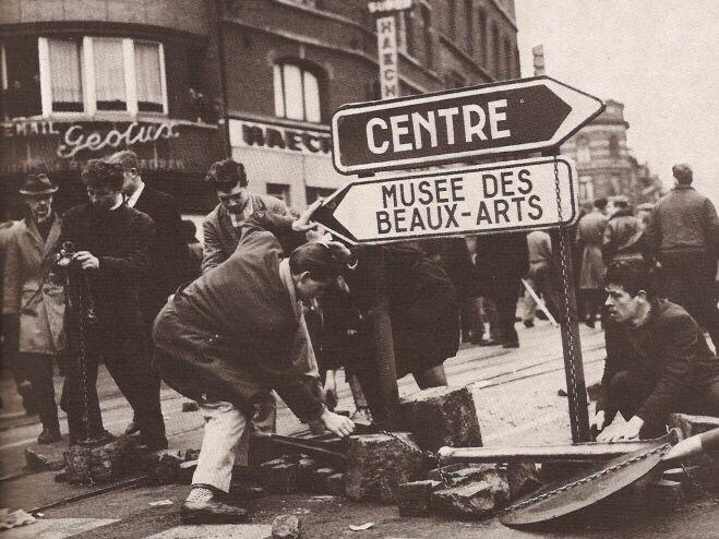 Belgian strike 2 Image public domain