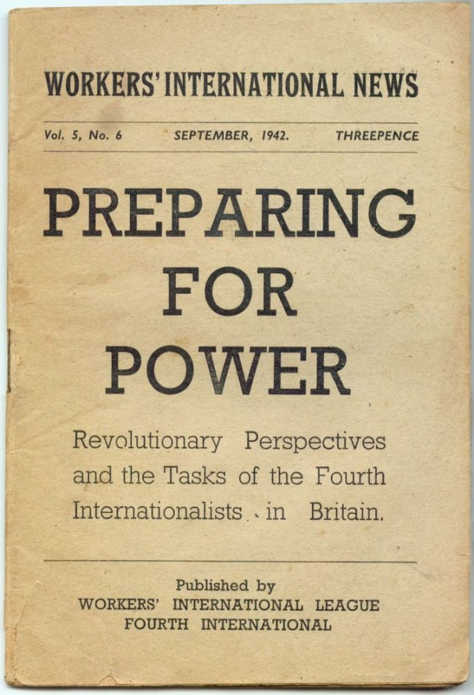 From: Preparing For Power