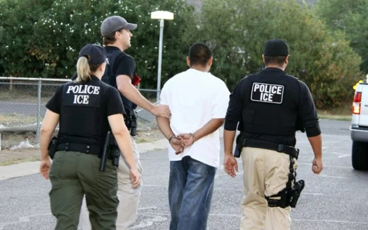 ICE Police Arrest Image US Department of Homeland Security Public Domain