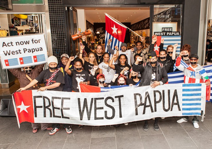 800px Free West Papua Protest Melbourne August 2012 Image Nichollas Harrison