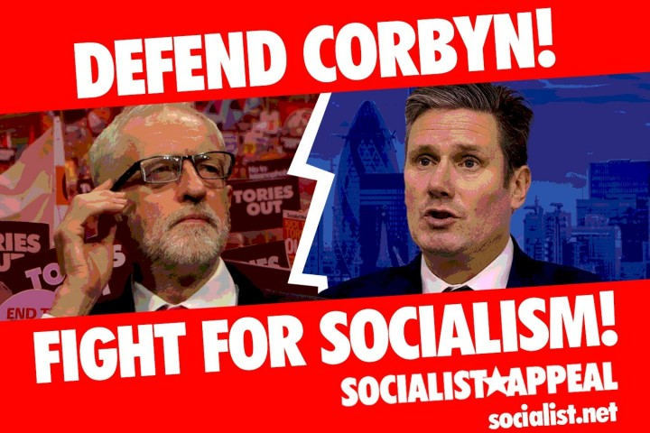 Defend Corbyn Fight for Socialism website