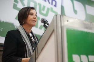 Zahava Gal-On Chairwoman of Meretz - Photot: meretz.org