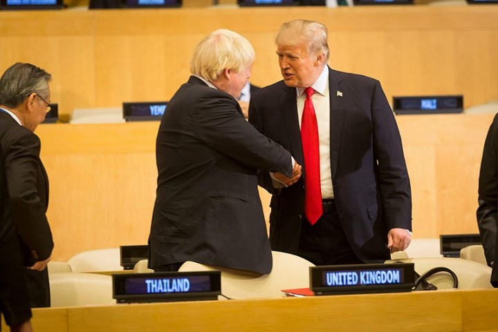 Trump Boris Image Flickr White House