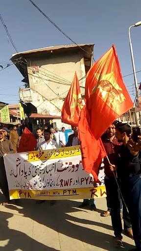 The Pashtun Tahafuz Movement (PTM), state repression and the