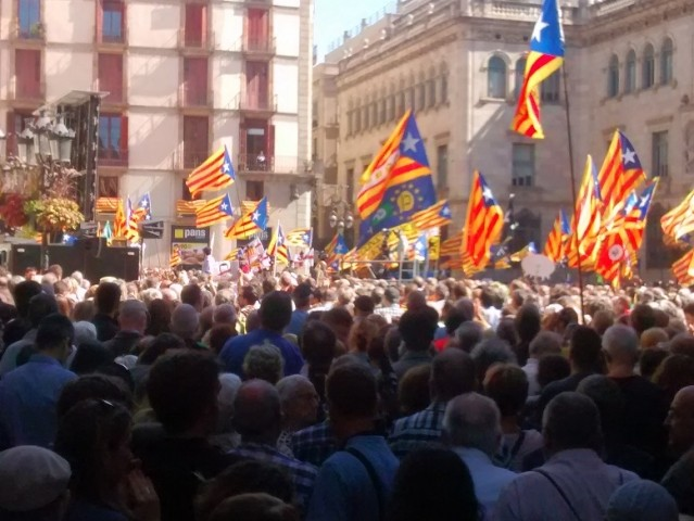 Catalan independence protest 2017 Image Wikimedia Commons