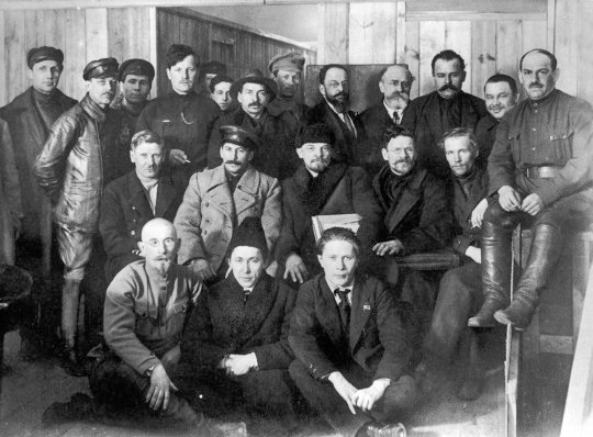 Delegates of the 8th Congress of the Russian Communist Party Image public domain