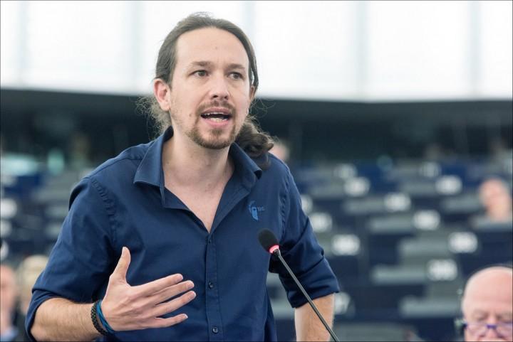 Pablo Iglesias Foto Flickr Parlamento Europeo