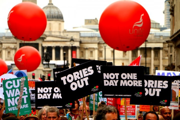 Tories out Image Socialist Appeal