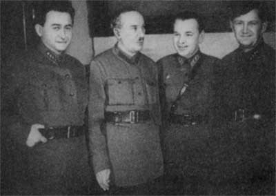 Second from left: G. G. Iagoda / Image: public domain