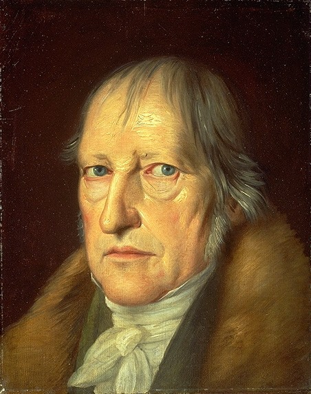 Hegel portrait by Schlesinger 1831