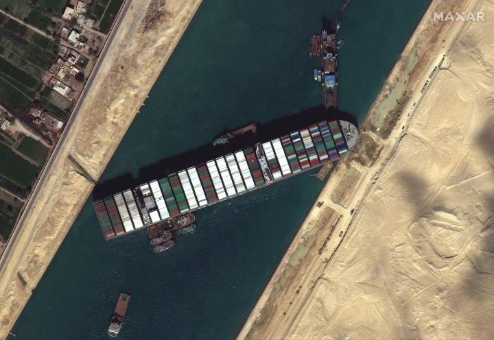 Suez Image DigitalGlobe Inc