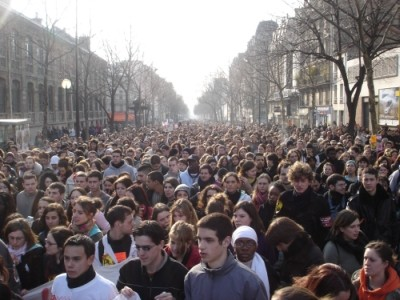 18 March demonstration in Paris