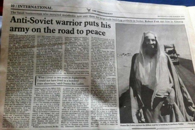 Osama Bin Laden Peace Warrior Fair Use
