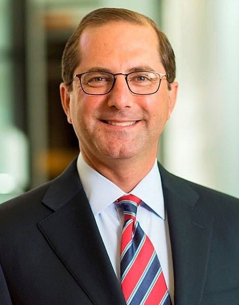 Alex Azar former Pharma boss and Trumps new Health and Human Services Secretary Image Eli Lilly
