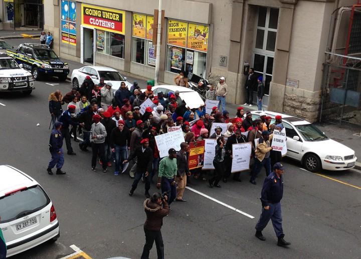 EFF have condemned Mugabe Image Discott