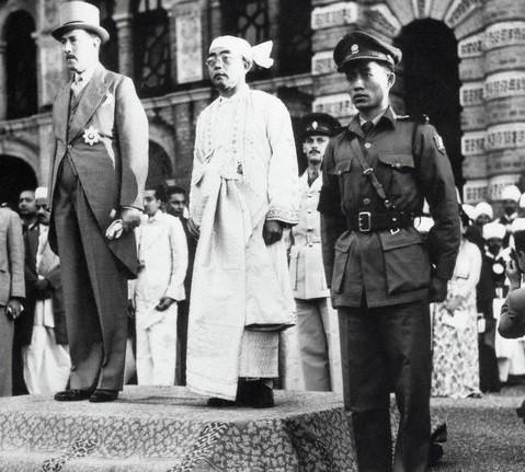 緬甸於1948年擺脫英國統治正式獨立。第二次世界大戰後,當地新生的資產階級和地主無力發展國家。//圖片來源:公有領域