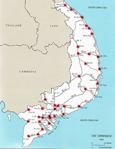 tet offensive targets large