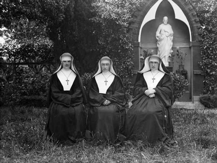 Nuns Image National Library of Ireland on The Commons
