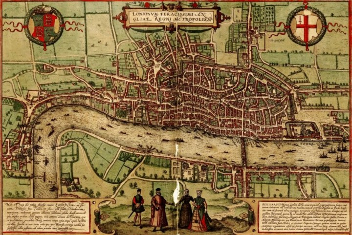 Feudal London Image public domain