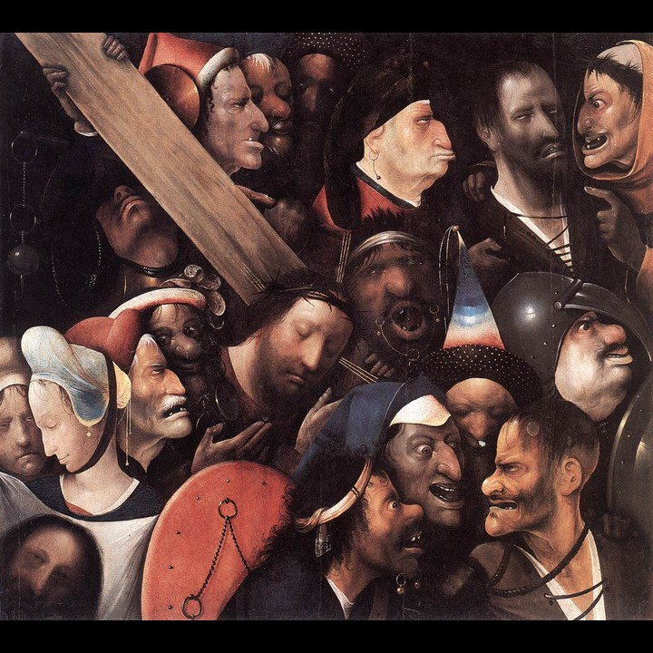 Bosch's Christ Carrying the Cross