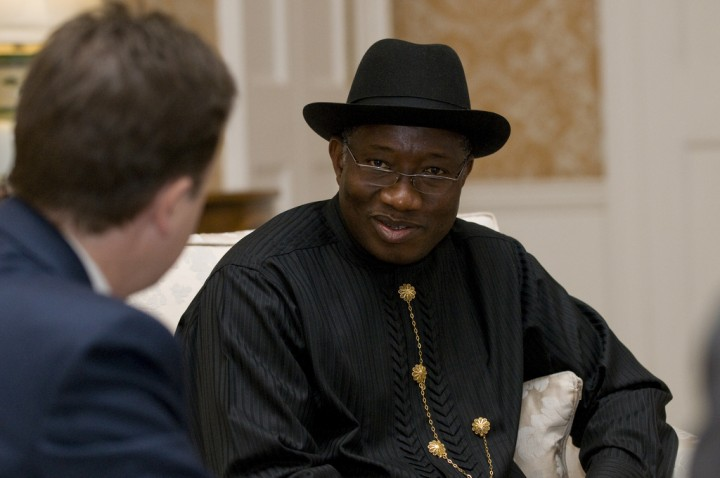 Goodluck Jonathan Image Cabinet Office
