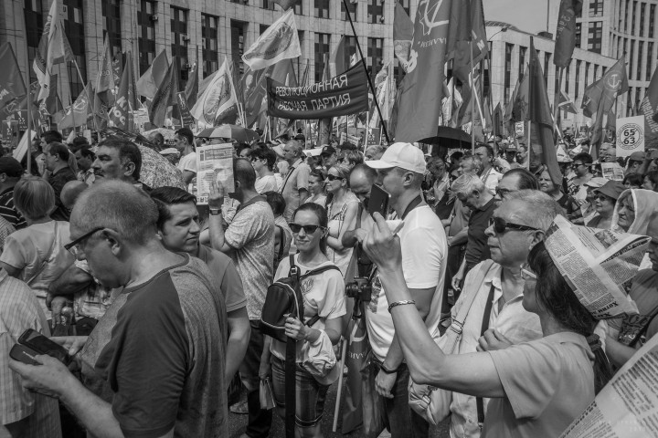 Pensions strike Image Flickr Taema