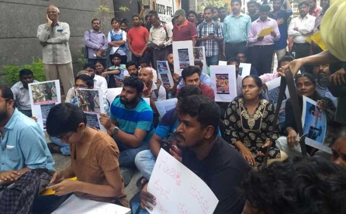sterlite shooting protest i