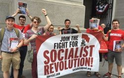 WIL at_DNC_protest_-_Socialist_Appeal_United_States