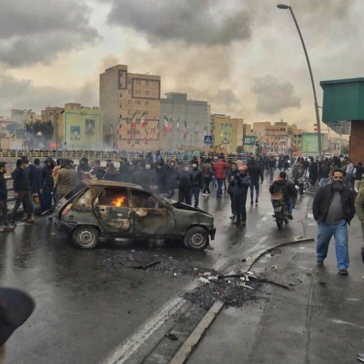 Iran protests 2019 new Image fair use