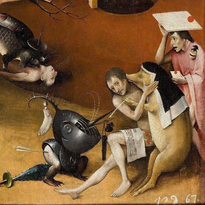 Detail from The Garden of Earthly Delights