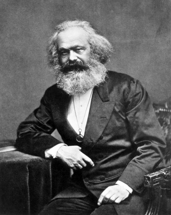 Karl Marx Image public domain