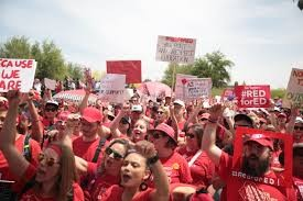 red for ed arizona teachers strike Image Arizona Education Association Flickr