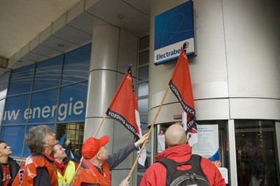 Day of action confirms determined militancy of Belgian workers