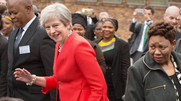 Theresa May Africa dancing Image public domain