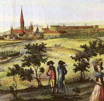 Bonn in the 18th century