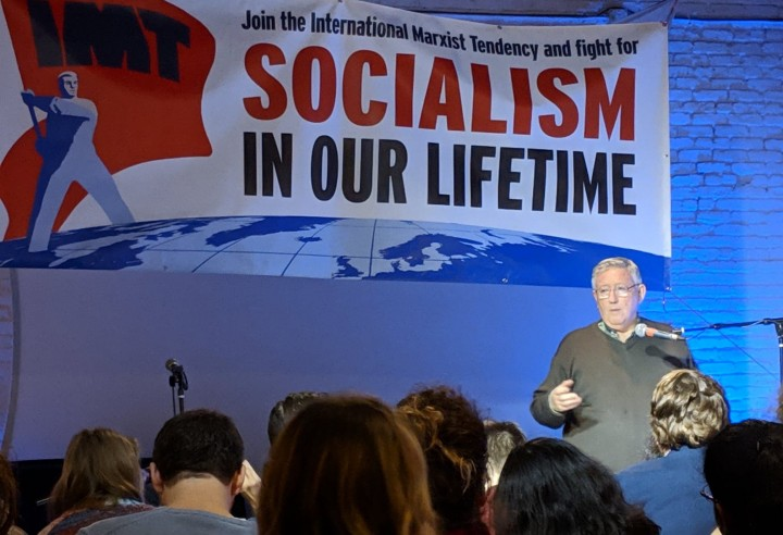 Alan emphasized that without revolutionary theory there can be no revolutionary movement Image Socialist Revolution