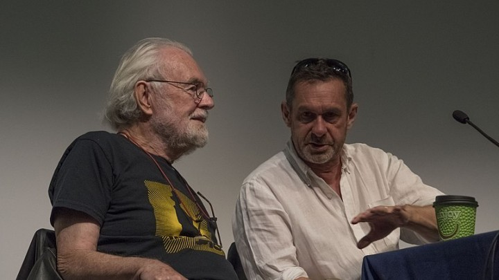 David Harvey and Paul Mason Image Jwslubbock