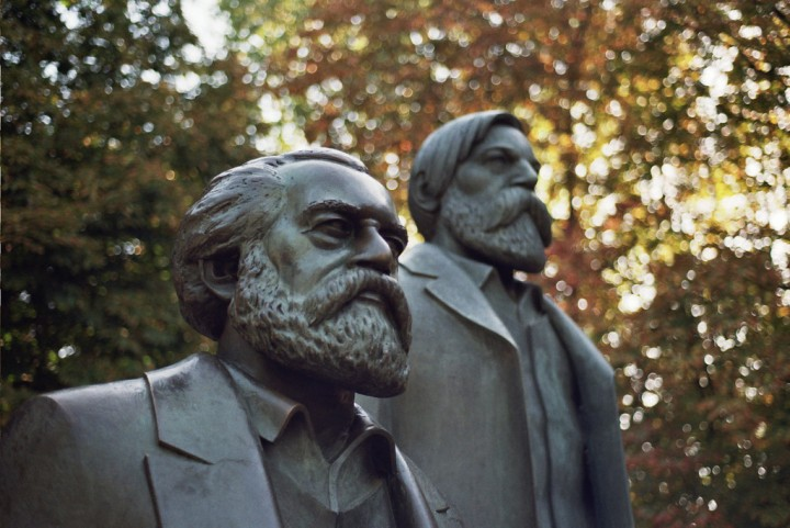 Marx and Engels sw Image Walt Jabsco