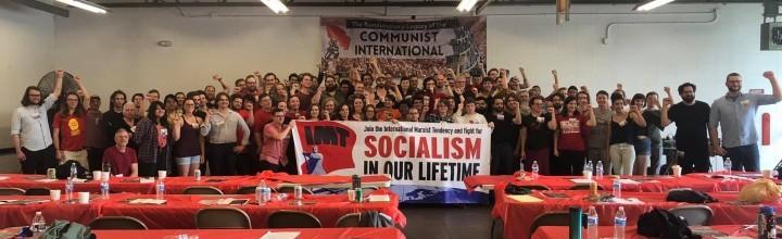 我們的方向基於過渡綱領的真正思想。我們邀請所有那些真心希望在我們有生之年看到社會主義革命勝利的人加入IMT。//圖片來源:美國《社會主義革命報》